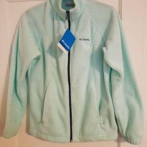 Columbia Full Zip Fleece - Womens M
